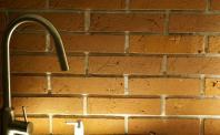 płytki z cegły w kuchni